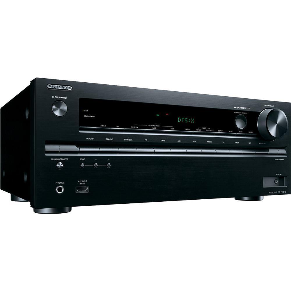 Onkyo TX-NR646 - Receiver 7 2 canais / Wifi / Bluetooth