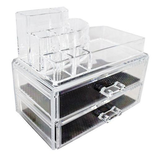 bc08c71df04 Organizador porta maquiagem caixa de acrilico com gavetas maleta para  cosmeticos esmaltes batom pinc - Gimp Produto não disponível