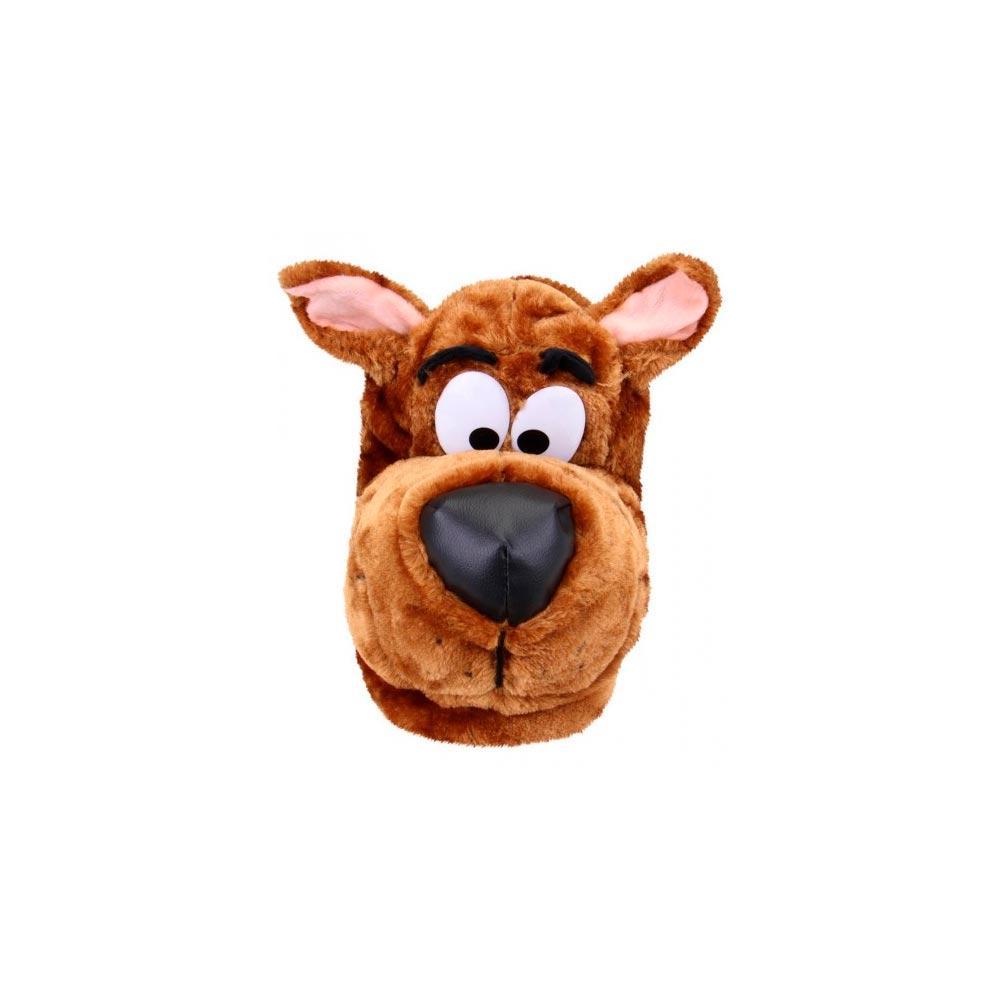 7d16bd3c9de8e5 Pantufa Scooby-Doo Ricsen de Pelúcia Fechada Unissex 3D 40/42 Marrom ...