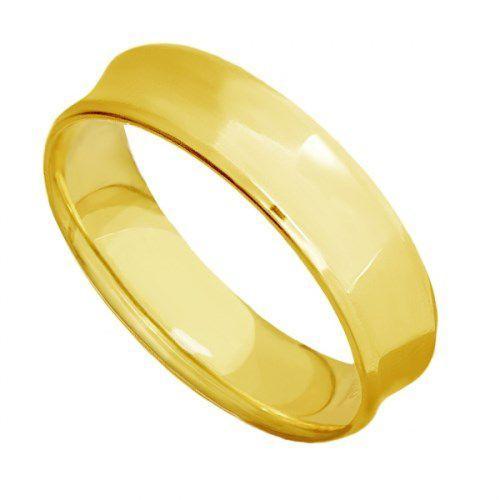 Par de Alianças de Casamento Ouro 18K Côncavas Lisas Anatômicas eac60A -  Joiasgold R  2.350,00 à vista. Adicionar à sacola e4e1e24b6a