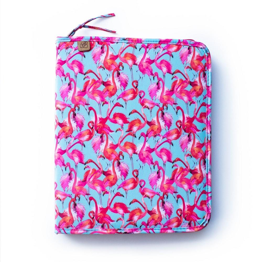 96717f22c Pasta Fichário A4 Escolar C/Bolso 4 Argolas Estampa Flamingo - Trousses R$  175,90 à vista. Adicionar à sacola