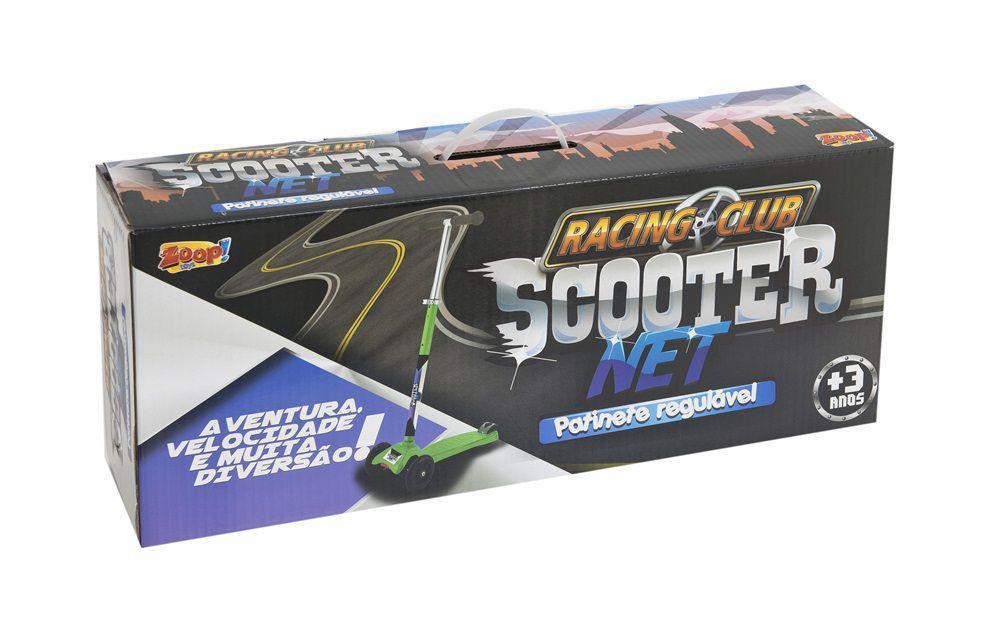 Patinete 3 Rodas Scooter Net Laranja Zp105 + Bola de Vôlei - Zoop toys R   249 40ac4b67eac25