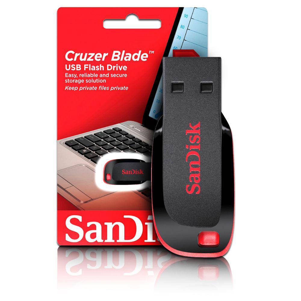 Pen Drive 16gb Usb 20 Sdcz50 Sandisk Magazine Luiza Flashdisk Cruizer Blade Blue R 3967 Vista Adicionar Sacola