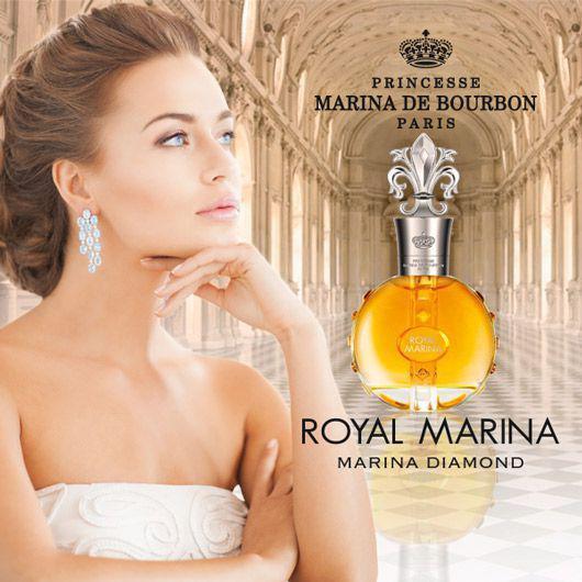7f396451a Perfume Royal Marina Diamond Marina de Bourbon Eau de Toilette - Feminino  100ml R  209
