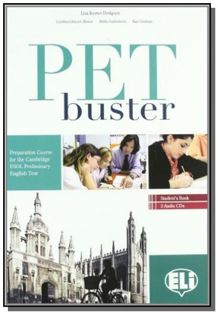 Complete Book Audio Pet Preliminary English Test
