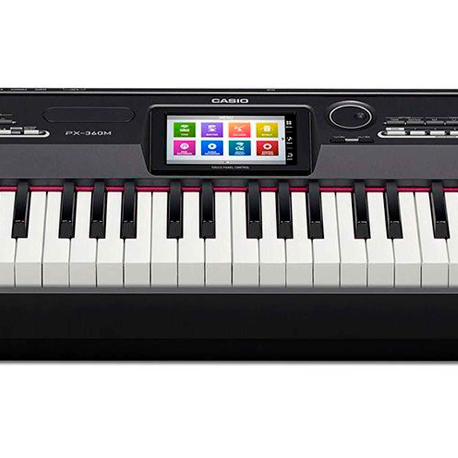 afa64af311e PIANO DIGITAL CASIO PX-360MBK PRIVIA 88 TECLAS   Estante Casio CS67   Pedal  de Sustain Casio SP-33C2   Capa Casio Privia SC 700P R  5.249