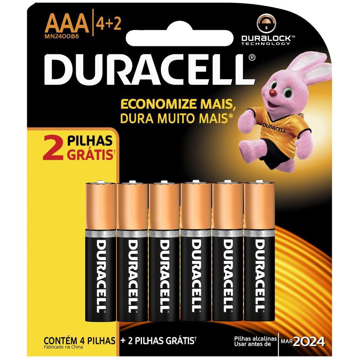 Aaa Mastercard Login >> Pilha Palito AAA Leve 6 Pague 4 - Duracell - Pilhas ...