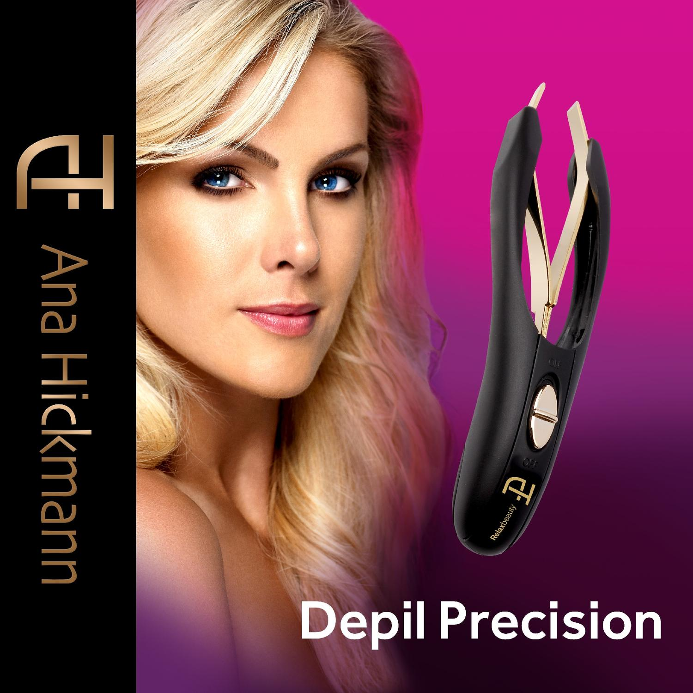 c1150b5857786 Pinça Ana Hickmann Depil Precision Relaxbeauty Produto não disponível