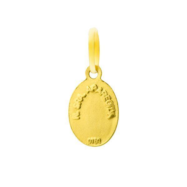 Pingente de Ouro 18k Medalha de Nossa Senhora Aparecida pi06793 - Joiasgold  R  142,07 à vista. Adicionar à sacola 25e4166005