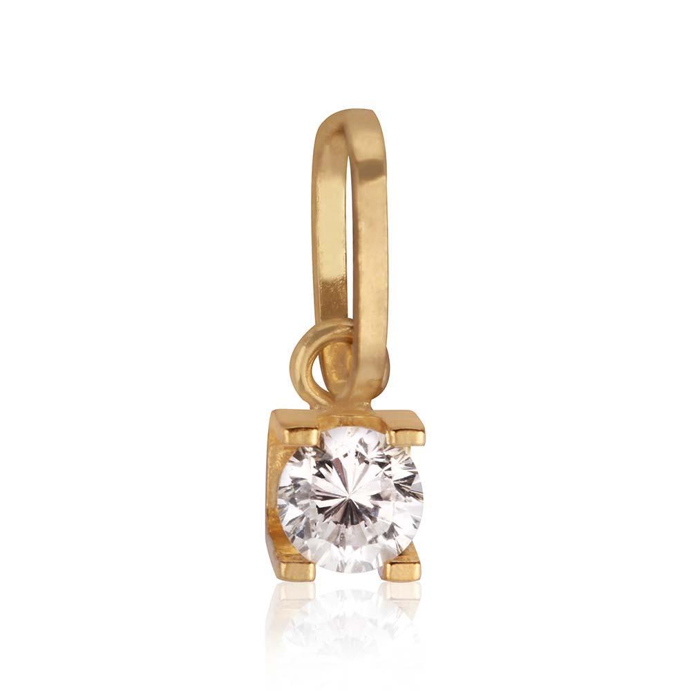 Pingente em Ouro 18k Cartier Mini com Zircônia - Rosana joias R  100,46 à  vista. Adicionar à sacola afb4dc2a76