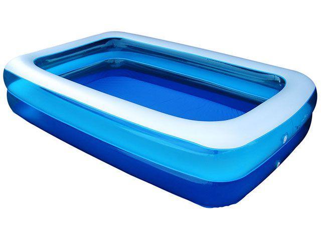 Piscina 1200 litros retangular nautika summer piscina for Piscinas de 6000 litros