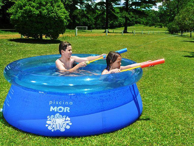 Piscina 1400 litros redonda mor splash fun piscina for Piscina 8000 litros redonda