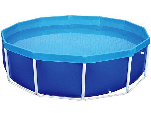 Piscina 4500 litros redonda mor circular piscina for Piscina de 6000 litros