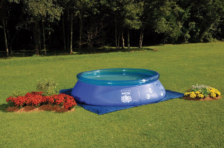 piscina 9000 litros redonda mor splash fun piscina