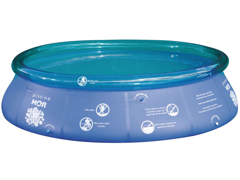 Piscina 9000 litros redonda mor splash fun piscina for Piscina de 6000 litros