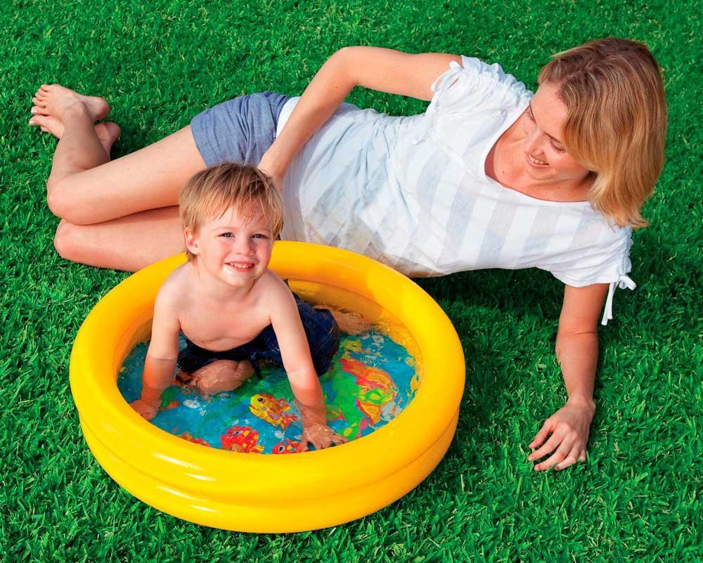 Piscina do beb 15 litros intex piscina e acess rios for Piscina p bebe