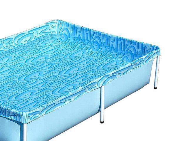 Piscina infantil retangular 1000 litros mor piscina e for Piscina 1000 litros