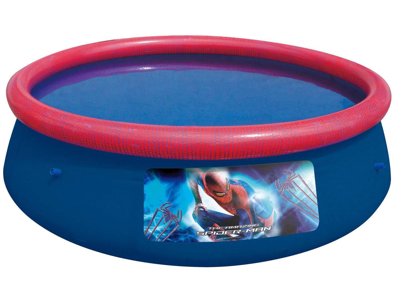 Piscina infl vel 2300 litros redonda bestway fast set for Piscina de 6000 litros