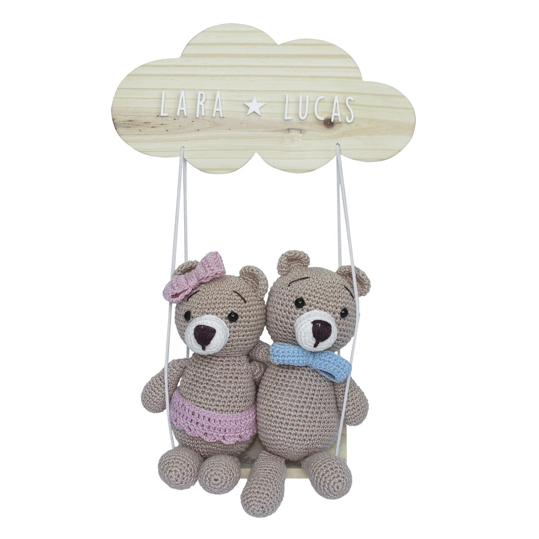 Móbile infantil - ursinho no Elo7 | Anabu Crochet (EE7EF3) | 1500x1500