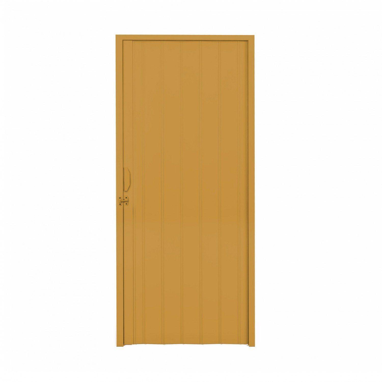 5b0f9733bb04d Porta Sanfonada PVC Polifort 210cmx100cm Cerejeira R  108,90 à vista.  Adicionar à sacola