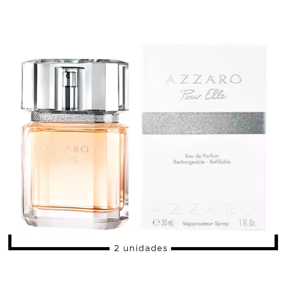 a0a0e698574 Pour Elle Feminino Azzaro Eau de Parfum Kit - EDP 30ml + EDP 30ml R  379