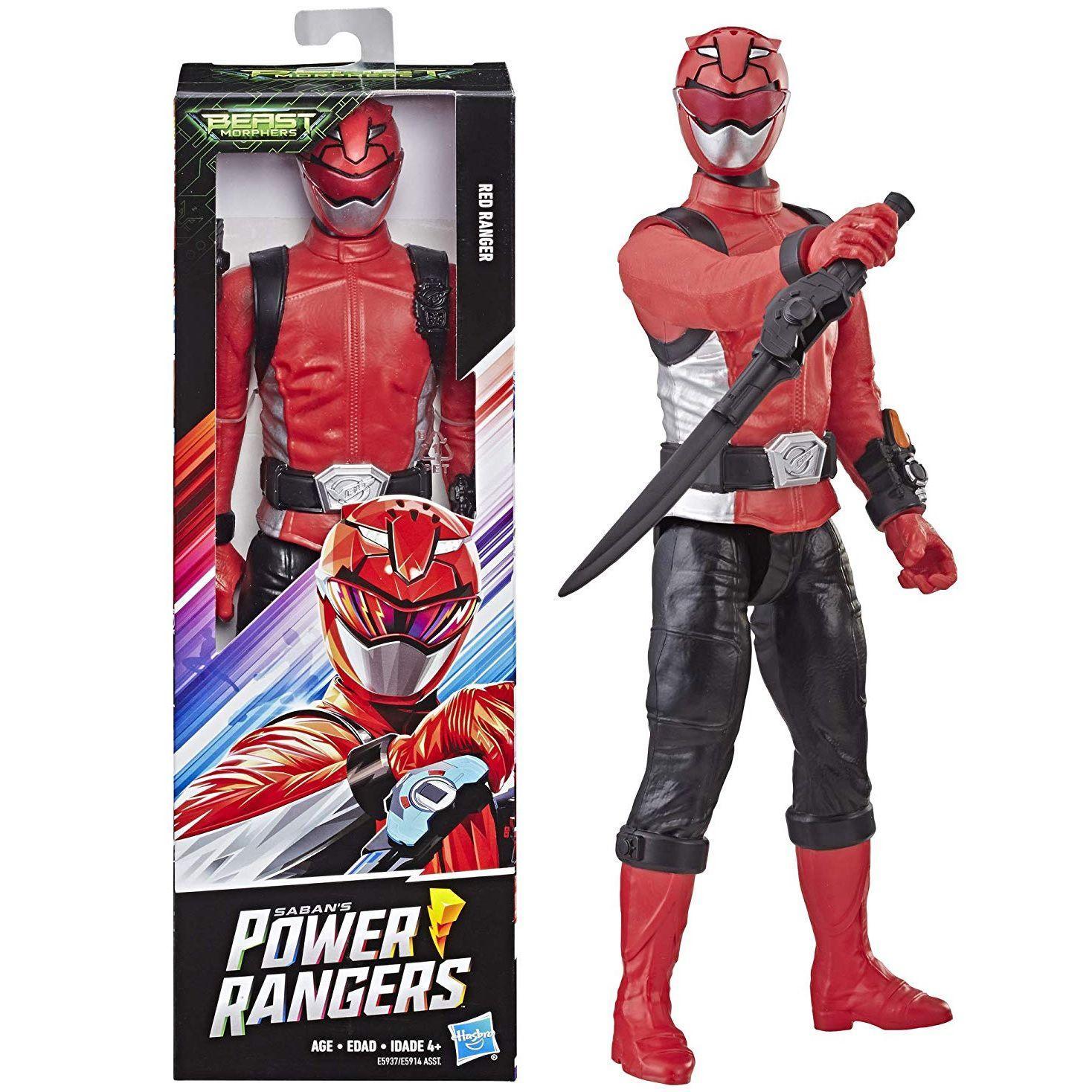 Power Rangers Beast Morphers Ranger Vermelho 30cm E5914 Hasbro