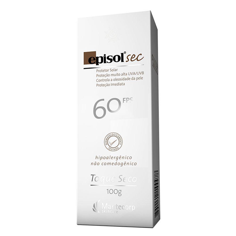 Protetor Solar Facial Mantecorp Skincare Fps 60 Episol Sec Produto não  disponível b64b6b16e6