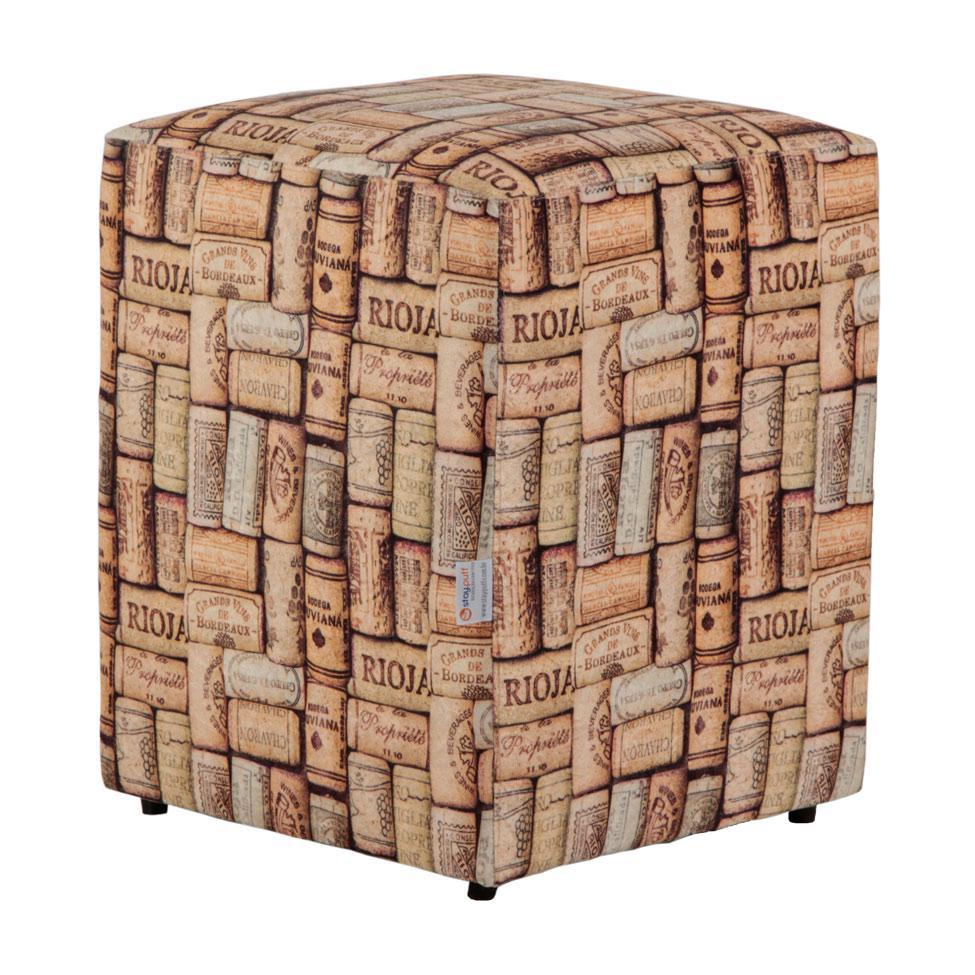 Puff Quadrado Cubo Suede Rolha Colorido - Stay puff - Puffs ... 7c53d8c1a04