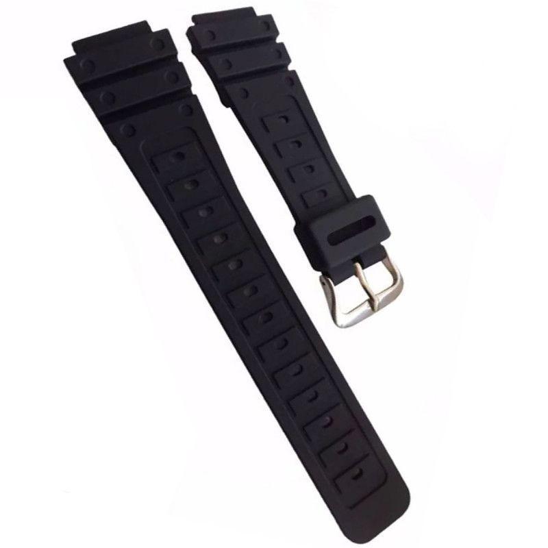 9ee18618a3d Pulseira de Borracha para Relógio Aqua Aq37 Preta - Oficina dos relógios R   13