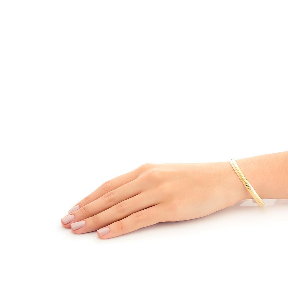 90b3b49edff32 Pulseira de Ouro 18k Bracelete Algema pu03487 - Joiasgold - Pulseira ...