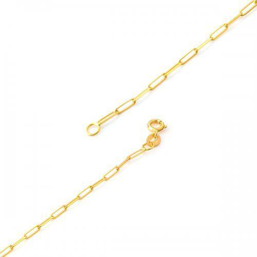 50ea99acc6a Pulseira de Ouro 18k Cartier Extra Longa de 1.7mm de 20cm pu03147 -  Joiasgold R  627