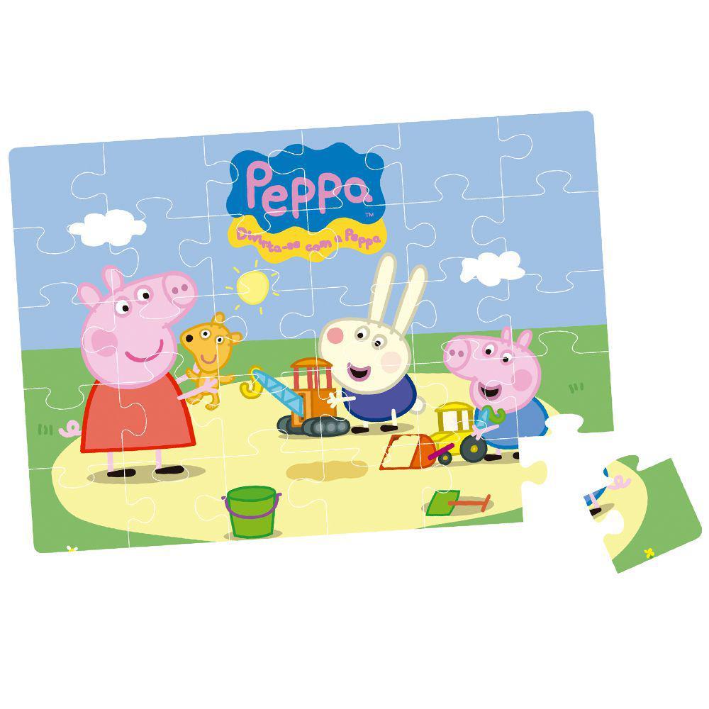 Quebra-Cabeça e Jogo da Memória - Peppa Pig - Elka - Elka Produto não  disponível