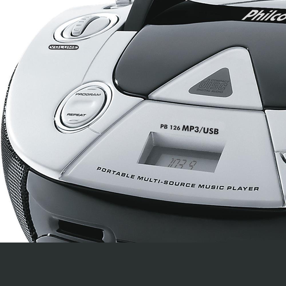 786e029e4 Rádio Boombox PB126 CD