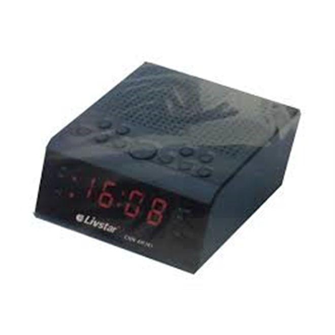 45f30b904d0 Radio relogio despertador am fm duplo alarme com funcao alarme sleep e  snooze livstar bivolt - Gimp Produto não disponível