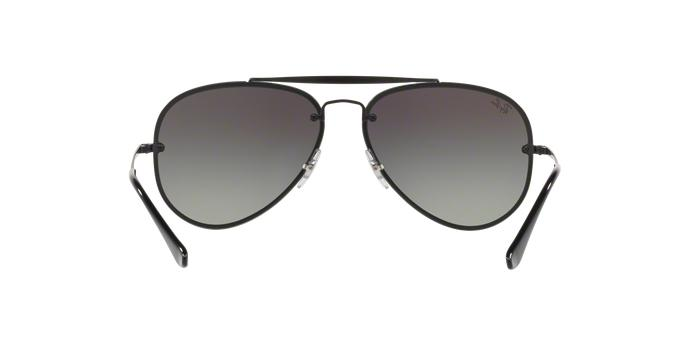 be6bb1c858b5e Ray-Ban Aviador Blaze RB3584N 153 11 Preto Lente Cinza Degradê Tam 61 R   519