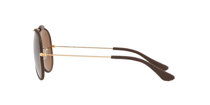 Ray-Ban Aviador Caçador Craft RB3422Q 9041 Marrom Leather Lente Marrom Tam  58 Produto não disponível 2d7973fe7a