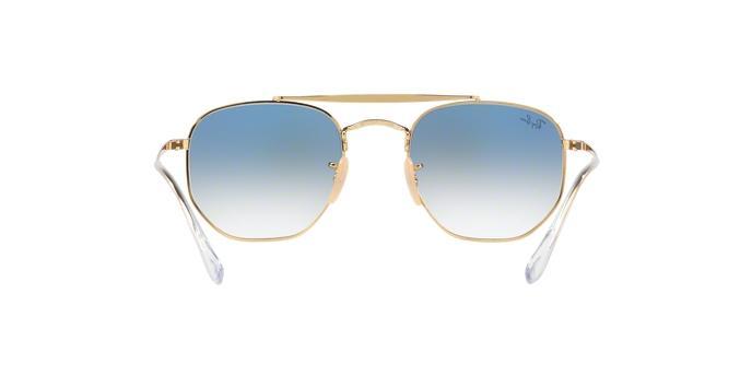 53abec04d Ray-Ban Hexagonal RB3648 001/3F Ouro Lente Azul Degradê Tam 54 R$ 479,99 à  vista. Adicionar à sacola