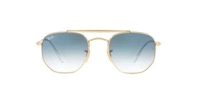 77c86886b Ray-Ban Hexagonal RB3648 001/3F Ouro Lente Azul Degradê Tam 54 R$ 479,99 à  vista. Adicionar à sacola