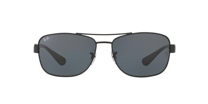 Ray-Ban RB3518L 006 87 Preto Lente Cinza Tam 63 - Óculos de Sol ... d13befa88d1f