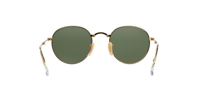 8f4a9837e55c5 Ray-Ban Round Folding II RB3532 001 Ouro Lente Verde Escuro G15 Tam 53  Produto não disponível
