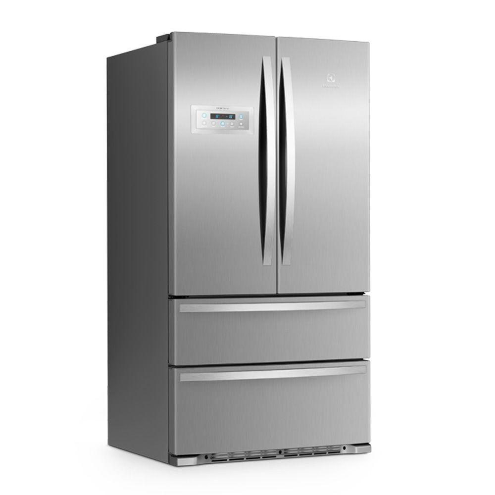 Refrigerador French Door 517 L Inox Fdd80 Electrolux Geladeira