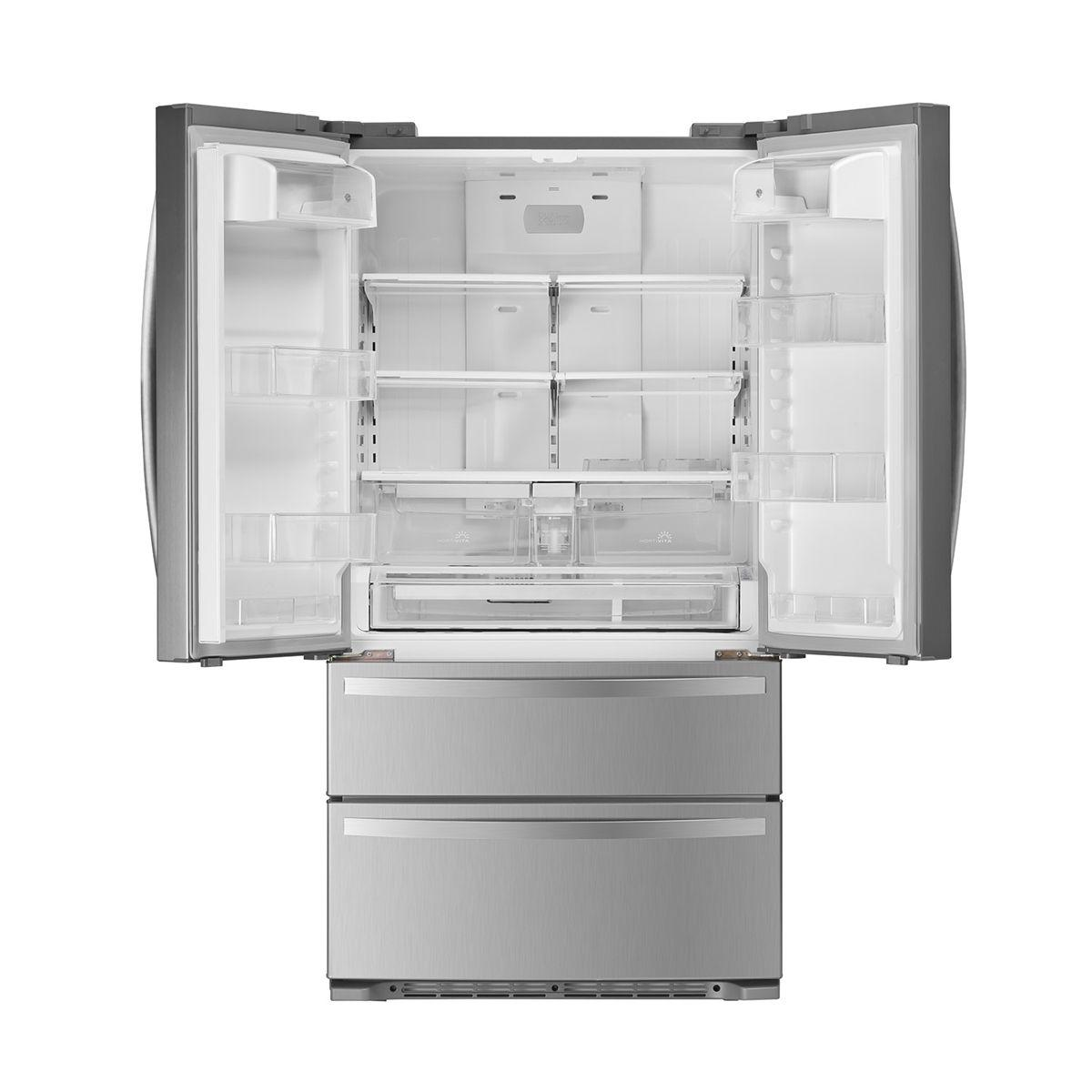electrolux french door french door 517l inox fdd80 electrolux electrolux