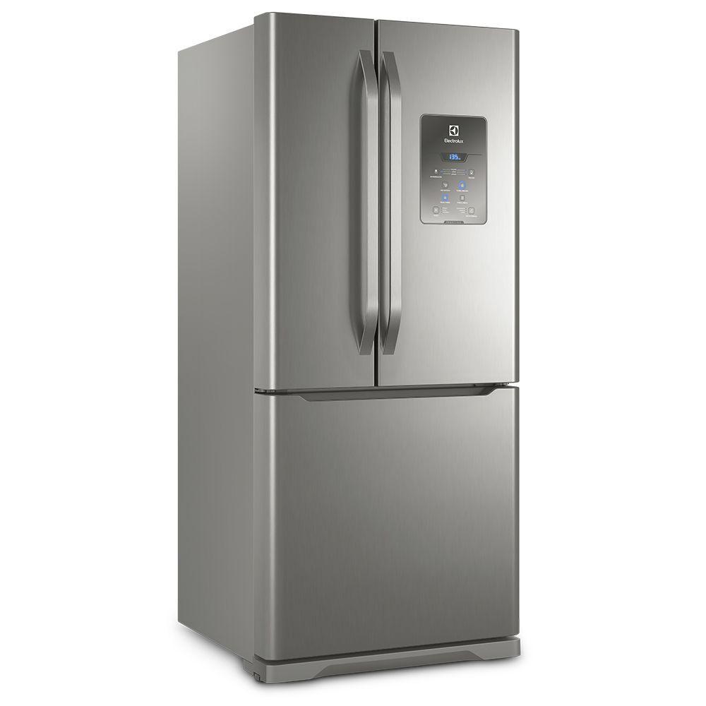Refrigerador French Door Electrolux 579l Inox Dm84x