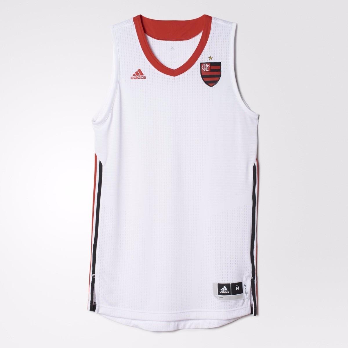 2084d80847 Regata flamengo adidas basquete jogo com microfuros modelo jogador R   148