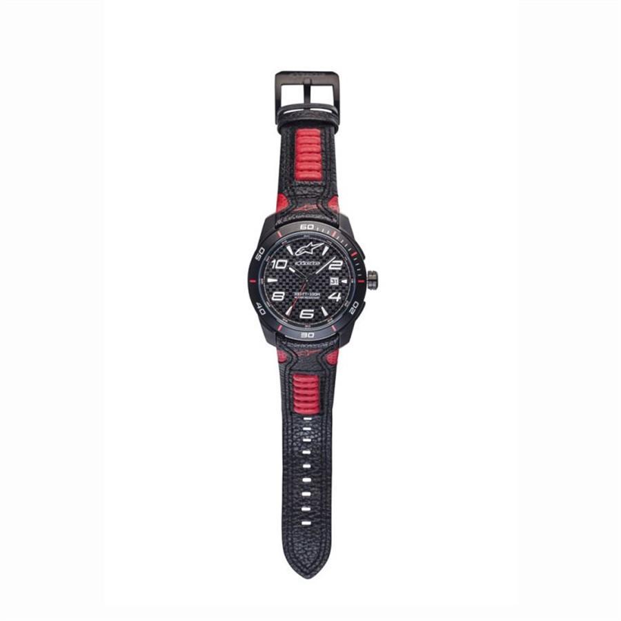 64ede173634 Relógio Alpinestars Tech 3H pulseira couro Vermelho Preto Produto não  disponível