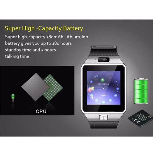 fce478aaec4 Relógio Bluetooth Smartwatch Dz09 Gear Chip Iphone Android - Gears R   149