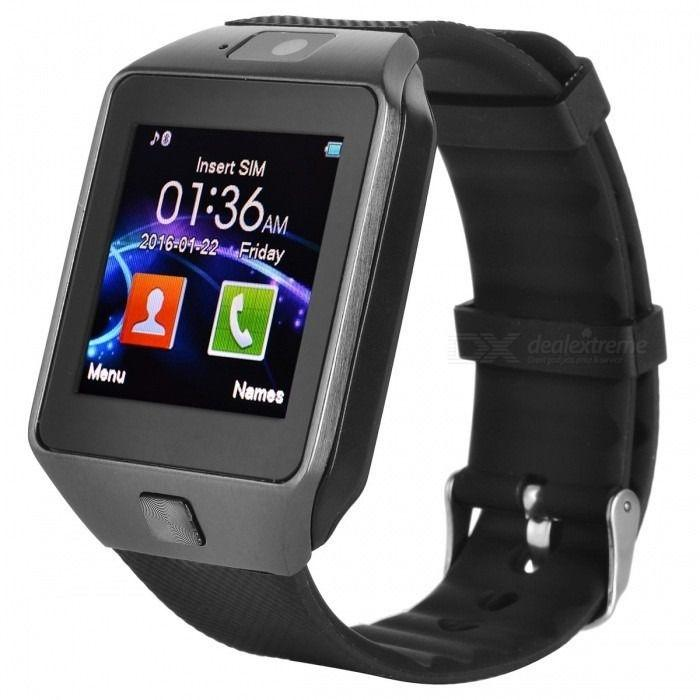 df1fac7943d Relógio Bluetooth Smartwatch Ge Chip Dz09 Iphone Android Preto - Odc R   70