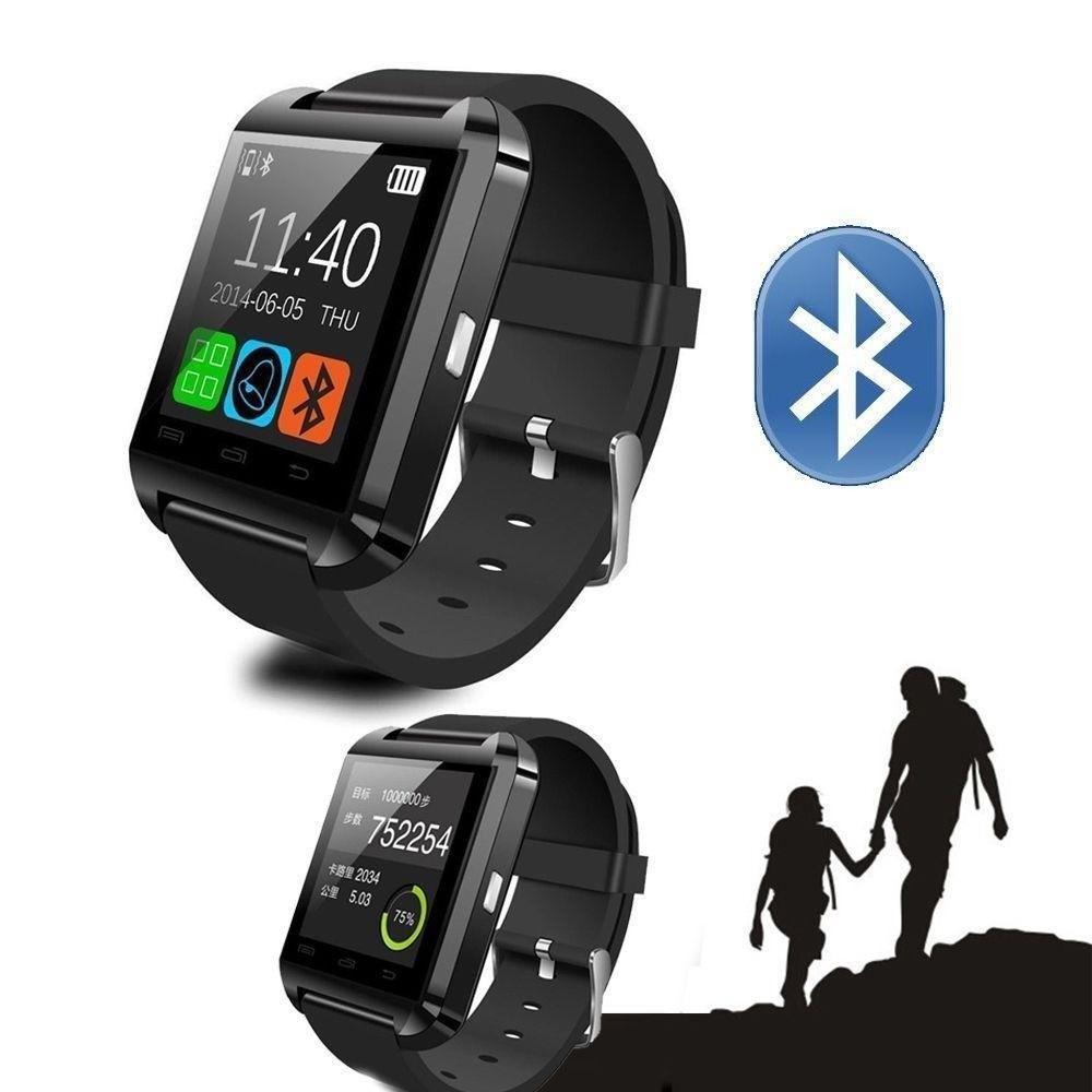 cffa225455f Relogio Bluetooth Smartwatch u8 Compativel Iphone Android Sem fio Preto -  Wlxy - Smartwatch - Magazine Luiza