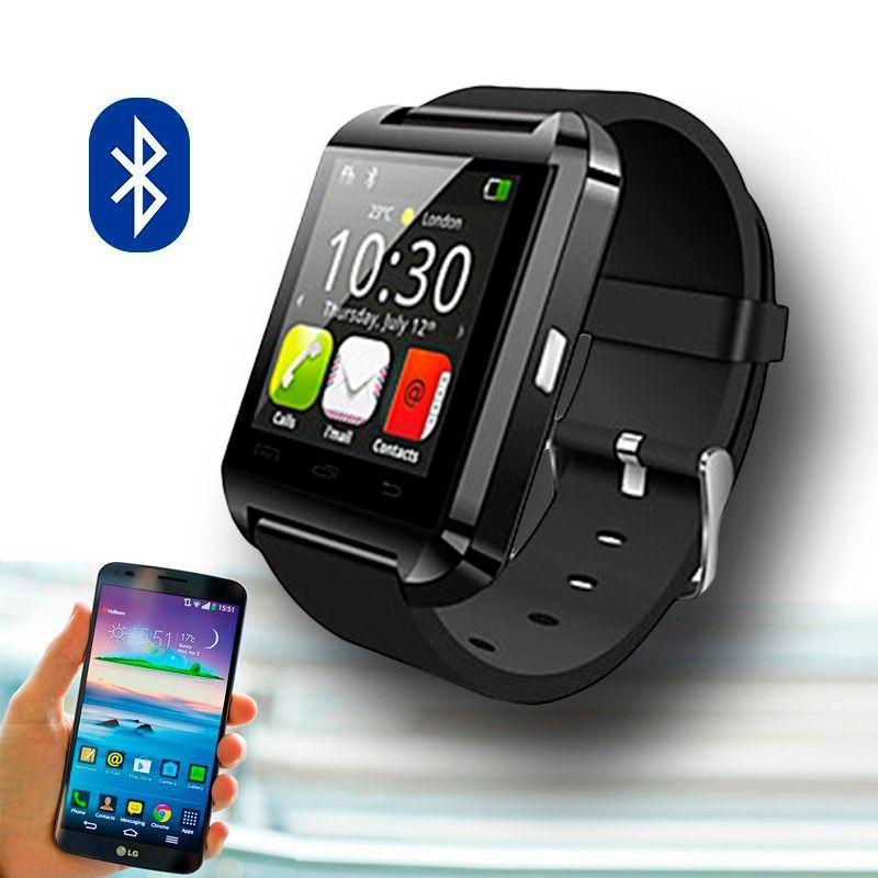 4960aacef01 Relogio Bluetooth u8+ Plus Smartwatch Touch Screen Sem fio Inteligente  Ligação Viva Voz Preto - Smartwatch - Magazine Luiza