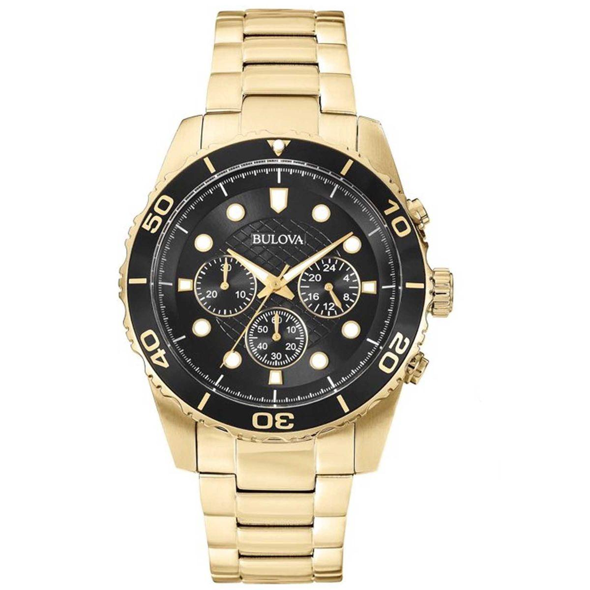 ac8c62d5566 Relógio Bulova Cronógrafo Marine Star Analógico Masculino WB31989U - 98A173  R  2.058